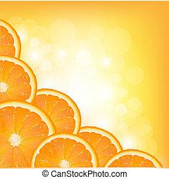 Orange Segment Frame