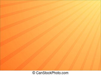 Orange shine background