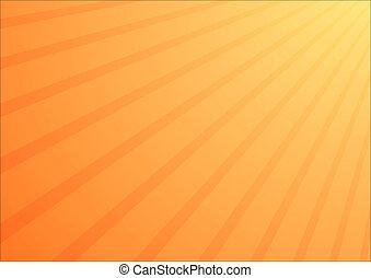 Orange shine background