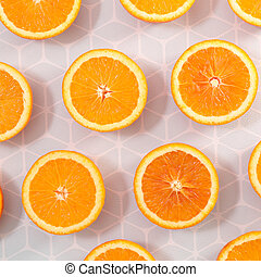 orange slice background