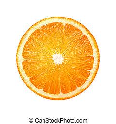 Orange slice fruit