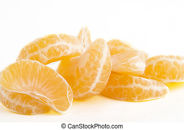 Orange Slice Pile - Pile of orange slices.