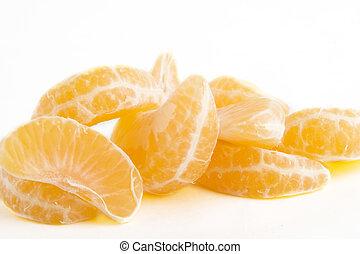 Orange Slice Pile - Pile of orange slices.