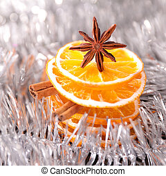 orange slices decoration for christmas