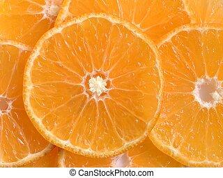 Orange Slices - Orange slices closeup