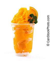 orange,  smoothies