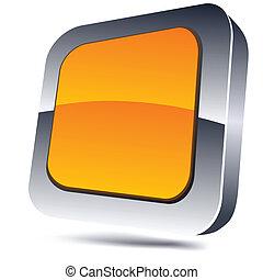 Orange square icon.