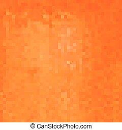 orange square pixel gradient grunge