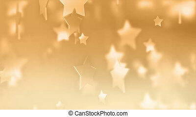 Orange Stars Abstract Art Award Backgrounds Blizzard Blurred Motion Bright