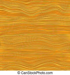 Orange Striped Pattern. Wavy Ribbons. Curvy Lines Texture.