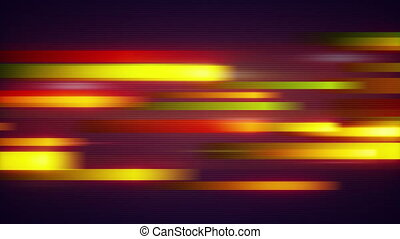 orange stripes data transfer loop