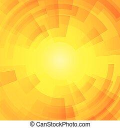 orange sunny business background