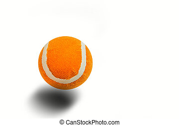 ball on a white background.
