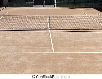 Orange Tennis Courts
