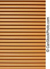 orange tin sheet
