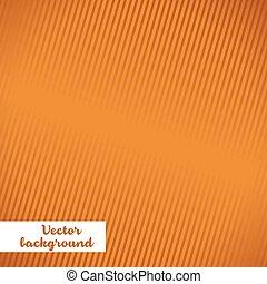 orange, vecteur, fond