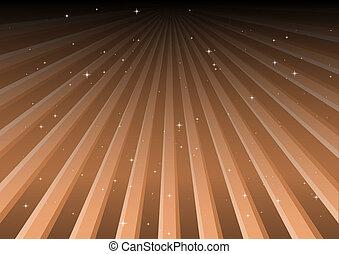 Orange vector background tracks