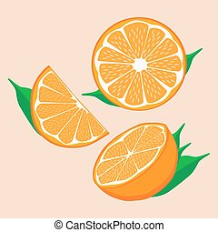 Orange vector clipart - Search Illustration, Drawings and