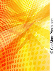 Orange Yellow Abstract Background - Background with layered...