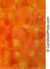 orange, yellow and red watercolor background