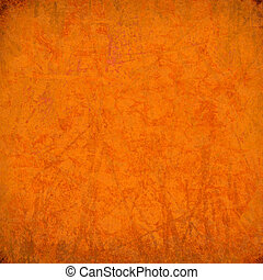 orange, zébré, grunge, fond