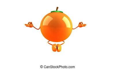 orange, zen
