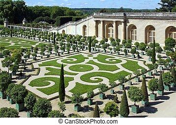 orangery of the castle Versailles