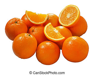 Oranges - Fresh juicy oranges