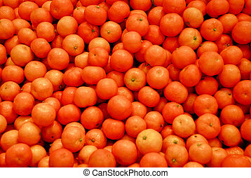 Oranges. - Fruits, vegetables, nuts and other healthy food.