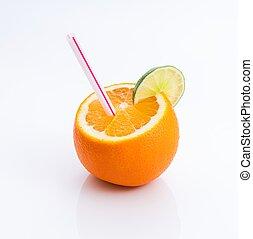 oranges ,grapefruit, fresh juice