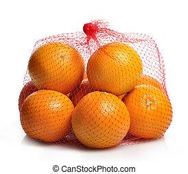 Oranges In A Bag