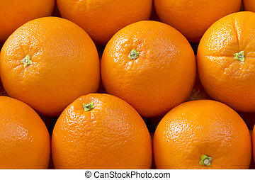 Oranges - Fresh oranges background
