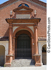 Oratory of St. Anna. Ferrara. Emilia-Romagna. Italy.