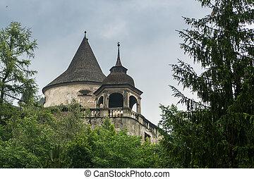 Orava castle tower