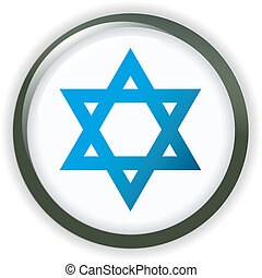 Orb ISRAEL Flag button