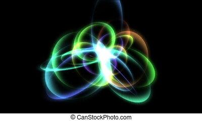 orbit star abstract