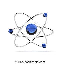 orbital, modelo, átomo