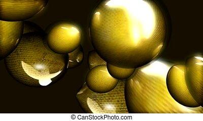 Orbiting egg shapes