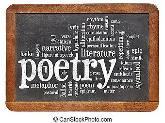 ord, poesi, moln