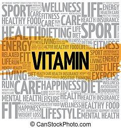 ord, vitamin, moln
