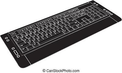 ordenador teclado
