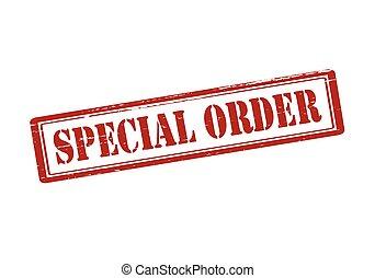 order, bijzondere