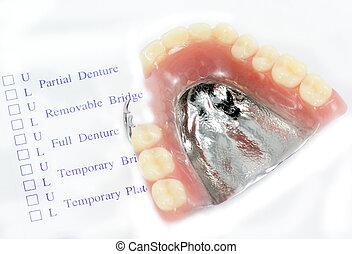 order denture