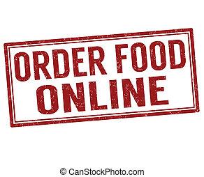 Order food online stamp