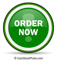 order now green icon