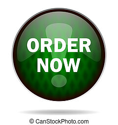 order now green internet icon