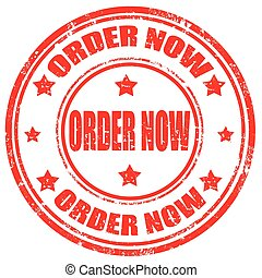 Order Now-stamp