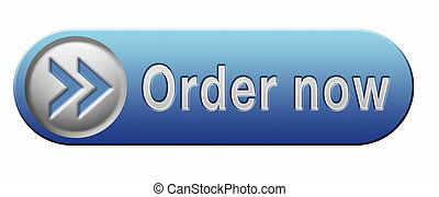 order now online at internet web shop button sticker or icon