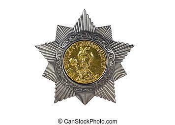 Order of Bohdan Khmelnytsky II degree .