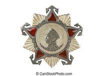 . Order of Nakhimov II degree.